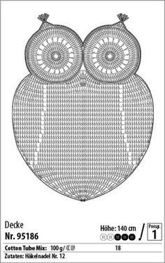 Die 107 Besten Bilder Von Eulen Cross Stitch Patterns C2c Crochet