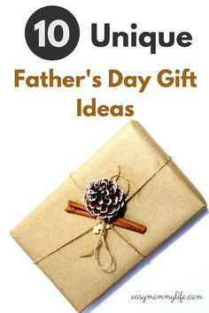 10 Cool And Unique Father's Day Gift Ideas.  Make dad feel special this father's day with these practical and unique father's day gift ideas. There is something for every type of dad be it a gym lover or a foodie. Each gift idea is sure to wow. #fathersdaygiftguide #giftguide #uniquefathersdaygift #giftideas