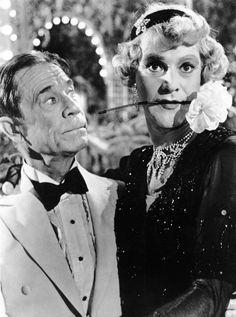 Joe E. Brown y Jack Lemmon en Con Faldas y a lo Loco 1959