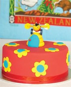 """The """"Kiwiana"""" Birthday Party theme is a great kids birthday party theme idea to celebrate our national heritage; no-fuss food classics, super casual party dress Birthday Party Themes, Girl Birthday, Birthday Cakes, Birthday Ideas, Bee Cakes, Bee Party, Kiwiana, Themed Cakes, Holidays And Events"""