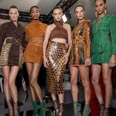 balmain, show, fashion, fashion week, paris, summer, spring, 2015, 2016, top models, backstage, behind the scenes