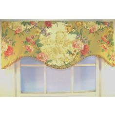 Antique Toile Cornice Valance #RLFHOME