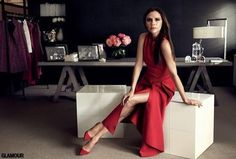 "Wise life advice from Victoria Beckham: ""Work hard, stay focused, be appreciative, and really, really go for it. I was told I couldn't do lots of things, so if I can do it, you can."""