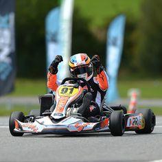 Nicolas Picot, vainqueur Rotax Max de la NSK 2014