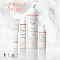 La gama Eluage anti-envejecimiento de Avene. Actuan tanto en superficie como en capas más profundas gracias al retinaldehído y al acido hialurónico combatiendo arrugas, flacidez y sequedad. http://farmaciajimenez.com/catalogo/avene/avene-eluage-concentrado-antiarrugas-15-ml/