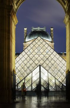 Just a hint of a housefly?  Louvre, Paris, France | Maryanne Mendoza