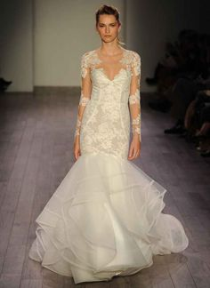 Hayley Paige Shows Lively, Feminine Wedding Dresses for Fall 2016 | TheKnot.com