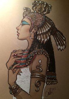 Cleopatra  by Rvalenzuela80 on @DeviantArt