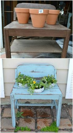 Hot To Incorporate Old Furniture Into Your Garden Design - DIYCraftsGuru