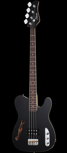 Schecter Guitar Research Baron-H Vintage Electric Bass Guitar Black....K