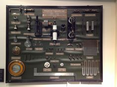 Early switchgear and shunts. Vienna Technology Museum.
