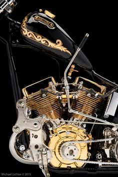 Epic Firetruck's Motor'sicles ~ Garage Built Bikes ~ Michael Lichter Photography ~