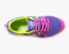 Desigual Running Shoes X-Lite G Buy Online Spanish Shoes, Running Shoes, Floral Design, Sneakers, Stuff To Buy, Beautiful, Collection, Style, Fashion