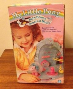 My Little Pony Baby Bonnet School of Dance Play Set 1986 with Original Box | eBay