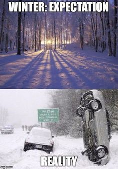 The Alaska winter. Long, dark, cold, and often met with disdain. Let these 21 Alaska Winter Memes brighten your day and help you get through it! Utah Memes, Ohio Memes, Lds Memes, Funny Images, Funny Pictures, Alaska Winter, Expectation Reality, Sombre, Funny Animal Memes