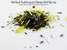 How to Make A Herbal Sleep Aid Spray?