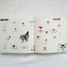 Day 134: Noses #sketchbook #100dayproject