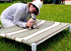 Daily DIY Pet pattern - How To Make An Elevated PVC Pet Bed