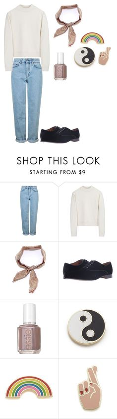 """""""Connor Franta Inspired"""" by chibiblue ❤ liked on Polyvore featuring Topshop, Acne Studios, LULUS, Massimo Matteo, Essie and Georgia Perry"""
