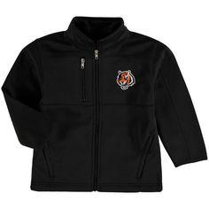 Cincinnati Bengals Preschool Helix Bonded Full-Zip Jacket - Black - $49.99