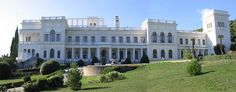 Livadiya Palace in Yalta, Ukraine