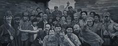 2009 CAST & CREW, Guo Jian (b1962, Duyun, Guizhou Province, China; based in Sydney, Australia since 1992 when he was deported from China)