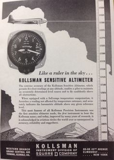 Kollsman ad