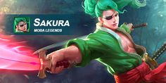 What do you think of Sakura? Let us know in today's Hero Feedback Post! Moba Legends, Joker, Hero, Let It Be, Fictional Characters, Style, Swag, The Joker, Fantasy Characters