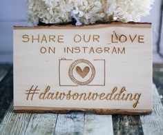 Custom Engraved Share our Love Instagram by RedCloudBoutique, $40.00