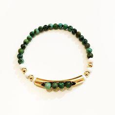 Bracelets By Vila Veloni Emerald And Steel