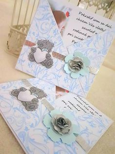 MagicArt / Pozvánky na krst: Handmade Invitations, Make Your Own Invitations