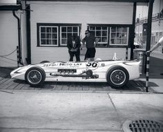 The Last Indy Roadster to qualify at the 500, driven by Jim Hurtibise