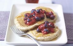 These healthy buckwheat pancakes filled with anti-oxidants,  fibre and they're   also gluten-free