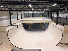 Oslo Skatehall Indoor Skatepark Completed Article on The Justme Website