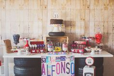 Alfonso's Vintage Garage Party | CatchMyParty.com