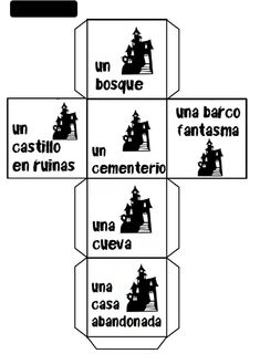 Teaching Spanish, Teaching English, Story Cubes, Halloween Stories, English Games, School Worksheets, Reading Workshop, Expressions, Writing Styles