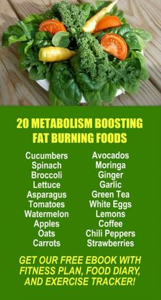 20 Metabolism Boosting Fat Burning Foods Learn about Zijas potent Moringa based weight loss products Get our FREE eBook with suggested fitness plan food diary and exercis. Diet Tips, Diet Recipes, Healthy Recipes, Healthy Foods, Fat Foods, Protein Foods, Quick Weight Loss Tips, How To Lose Weight Fast, Weight Gain