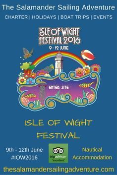 Isle of Wight Festival 16 June 2019 Luxury Accommodation Sleeps 6 Breeze Restaurant, Restaurant Bar, Isle Of Wight Festival, Sailing Holidays, Sailing Adventures, Free Cars, Festival 2016, Trip Advisor, Nautical