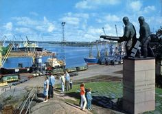 Kotka is located on the coast of the Gulf of Finland in the southeast of the country. Helsinki, Statue Of Liberty, 1960s, Transportation, Coast, Country, Travel, Finland, Statue Of Liberty Facts