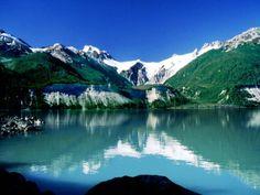 Glaciar y Lago los Leones, Región de Aysén, Chile
