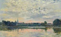 Argenteuil (C Monet - W 322)   Huile sur toile, 42 x 70 cm, …   Flickr