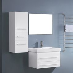"Found it at AllModern - Antonio 29"" Single Bathroom Vanity Set with Mirror &…"