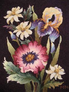 Rug Hooking Supplies | rug hooking craft, hook rug, hooker, rughook, hook project, irises, hook suppli, flowers, rug hooking