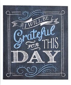 Loving this 'I Will Be Grateful' Wall Sign on #zulily! #zulilyfinds
