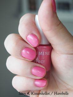 Lumene Gel Effect nail polish in 4 Harebells / Kissankellot
