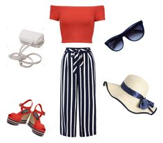 """Modern Sailor"" by charlottemcharg on Polyvore featuring Monsoon, Alice + Olivia, Tommy Hilfiger and modern"