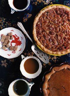 Gourmet Magazine, November 2009. Pecan Pie