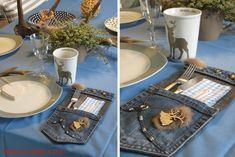 Wer seinen Tisch für Gäste richtig edel decken möchte, bringt mit individuellen Bestecktaschen einen tollen Hingucker auf den Tisch. Eine Bestecktasche in passendem Design rundet das Bild einer Festtafel stilvoll und harmonisch ab! Die Upcycling-Bestecktasche – aus den Resten einer alten … weiterlesen