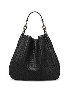 Bottega Veneta Woven Nappa Leather Hobo Bag 695624fe55ea4