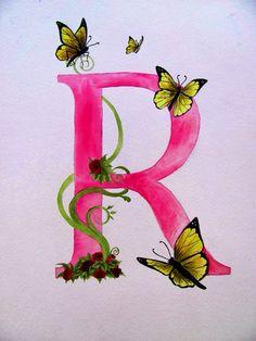 "Animal alphabet - ""R"" Pink on Etsy, $19.99"